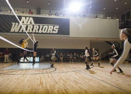 Early Wins Serve Up a Strong Season for Warriors Volleyball