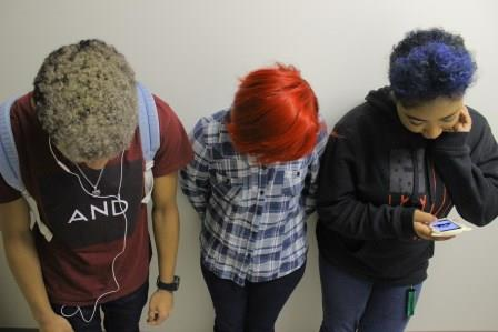 Students Express Themselves Through Funky Colored Hair
