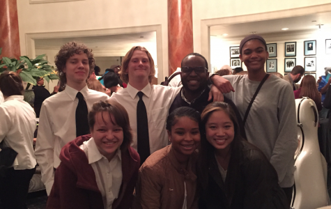 North Atlanta's orchestral stars who participated in the Spivey program with their dedicated teacher, Stephen Lawrence.