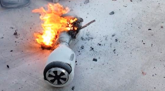 Hoverboards are an Explosive Hit
