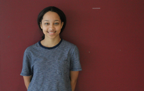 Senior Asia Fields took home the first place award for the poetry out loud competition.