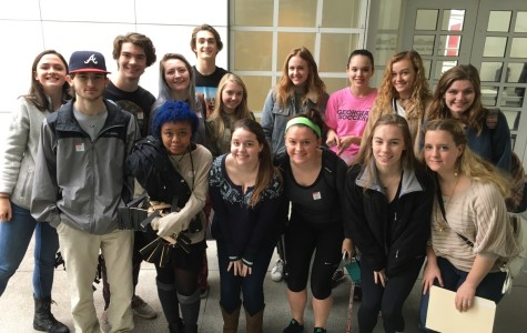 """Creative Crew: North Atlanta students won a recent """"Art Throwdown"""" competition held at the High Museum of Art."""