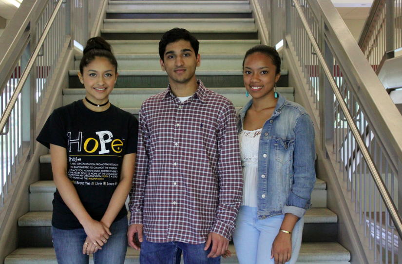 North+Atlanta+Georgia+Scholars+%28l+to+r%29%3A+Maleni+Palacios-Delgado%2C+Vajraang+Kamat+and+Rachel+Morales.