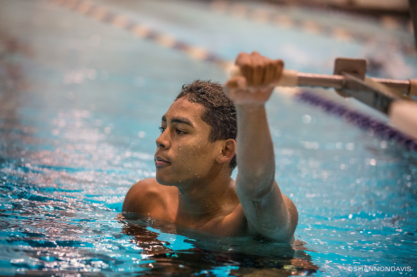 Warrior Swimming Standout Stines to Compete on Collegiate Level at Wisconsin