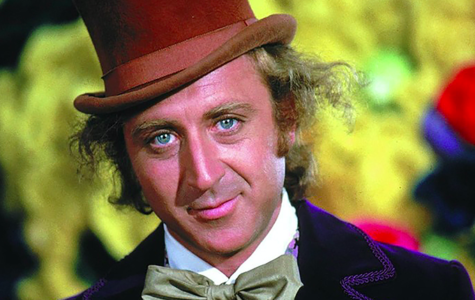 The late Gene Wilder in his most famous role, Willy Wonka from the Chocolate Factory.