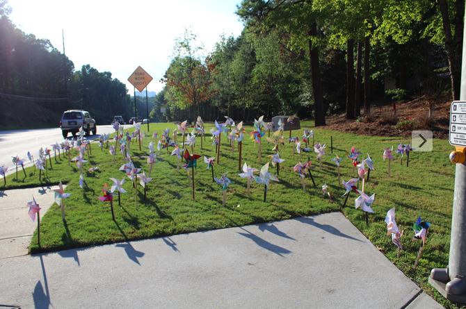 North Atlanta Students Promote International Day of Peace
