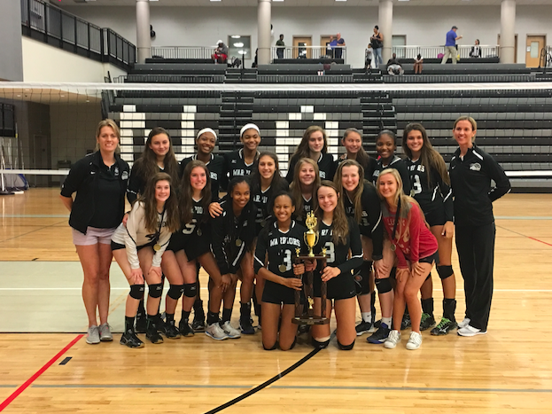 Volleyball Warriors Secure Crown at APS Championships