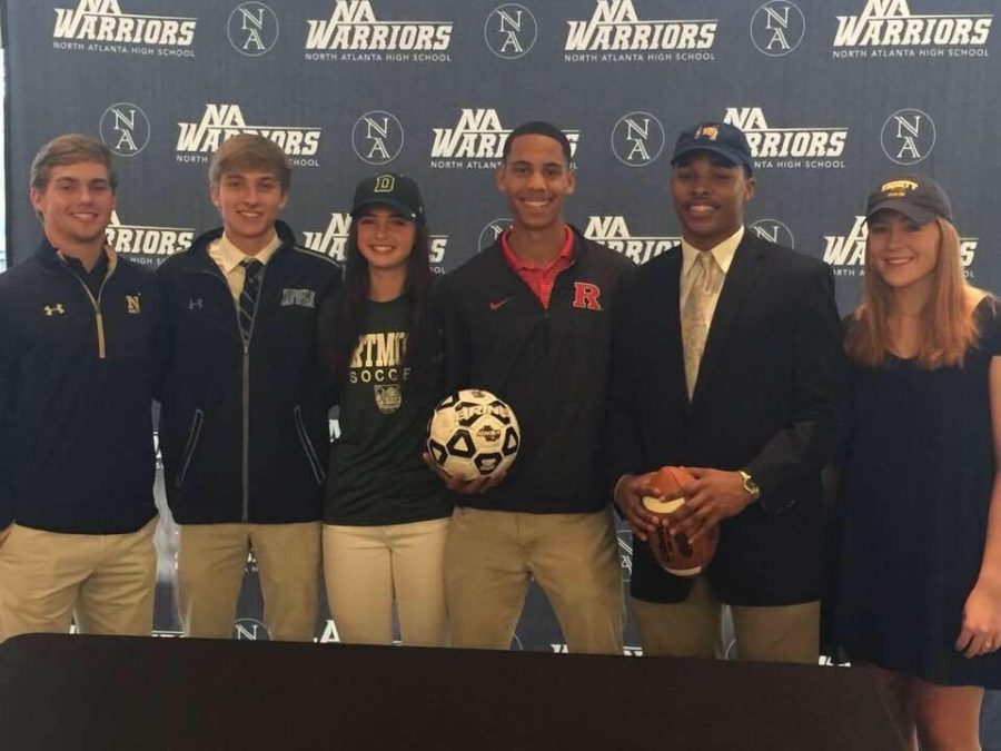 Top Warrior Athletes Score Big on Signing Day