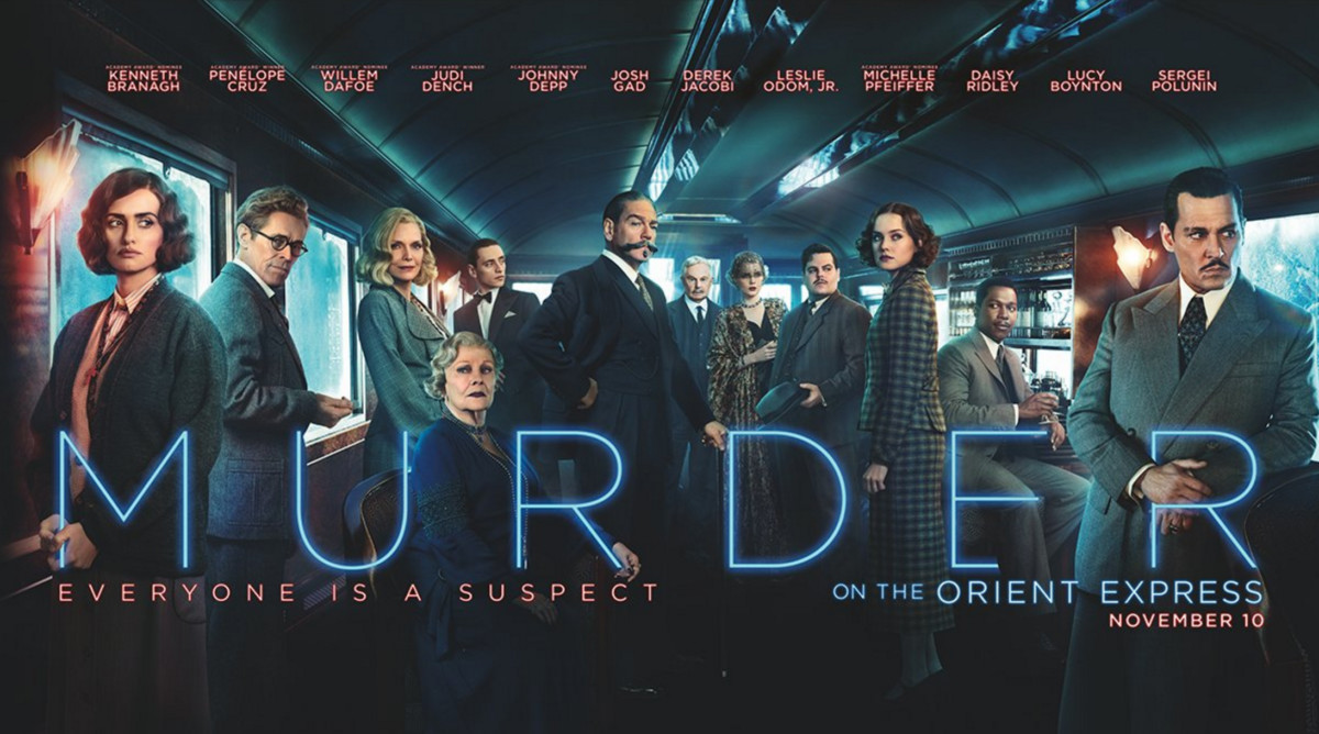 """""""Murder on the Orient Express"""" is a cinematic adaptation of the Agatha Christie murder-mystery classic and a remake of the popular 1974 movie of the same name."""