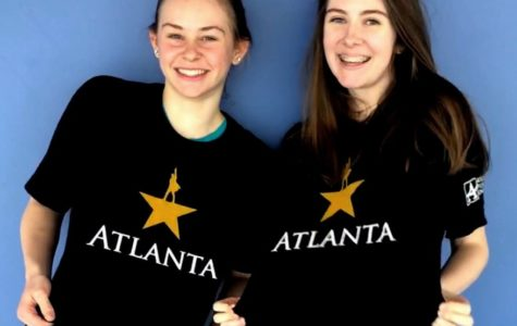 "One Shot: Sophomores Taylor Hicks and Natalie McNamara are among the many North Atlanta students who will get to take in the Tony-award winning musical ""Hamilton."""