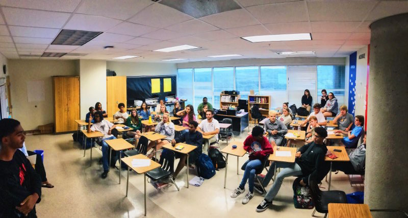 Political Participation: The North Atlanta Student Political Association discusses the current events and politics to inspire more students to be aware of the world around them and to be able to voice their opinions.