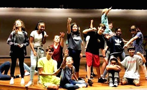 Set the Stage: The Sutton Middle School theatre talent prepare for a grand spectacular