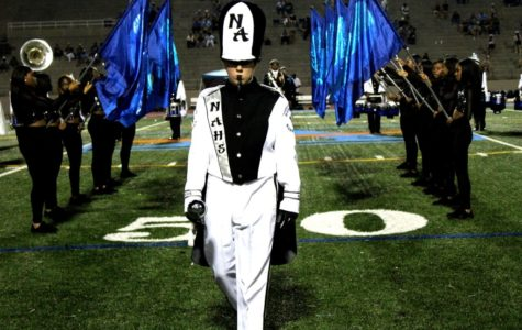 Stepping Up: Marching Warriors  Make Some Noise in Fall Competitions