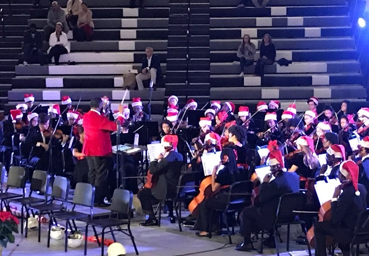 Making Spirits Bright: The North Atlanta annual holiday concert brings together the wide spectrum of fine arts talent to ring in the season. This year's concert will take place on Nov. 7 in the gymnasium.