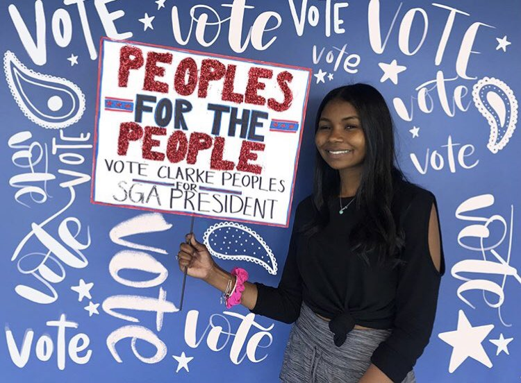 Rally the People: Senior Clarke Peoples heads off to Columbia University as a member of the Class of 2023 with a goal of becoming an attorney.