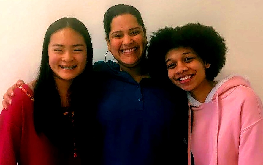 Beautiful: Junior Fiona Liu, director Lilliangina Quiñones, and junior Kristin Scott are part of the Heathers audition process.