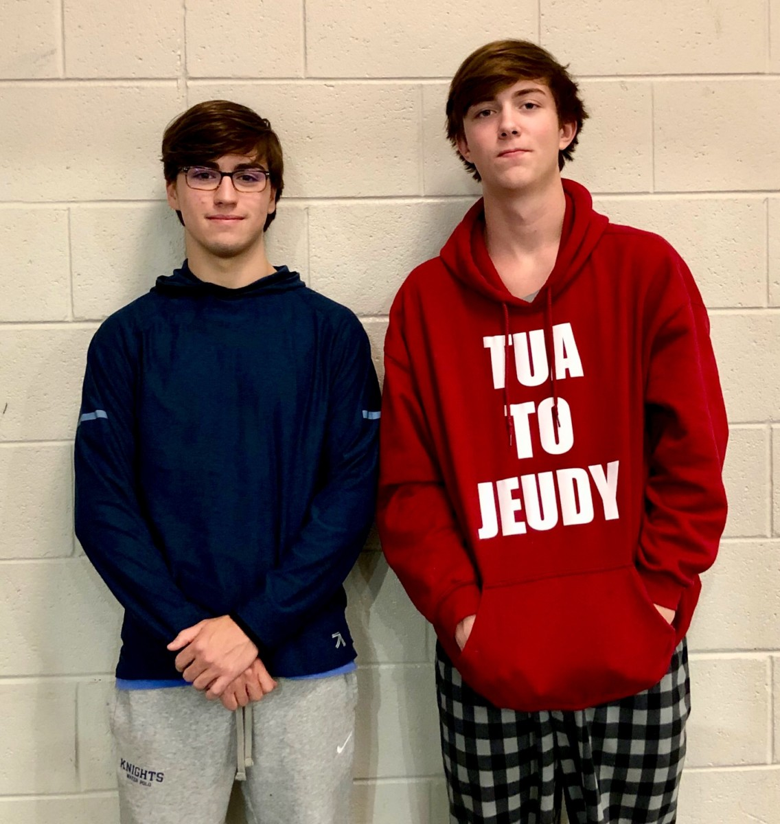 Hi! My Name Is: Junior Jackson Hamel and Fred Bruce deal with being transfer students and adjust to life in the rumble and tumble of a new eleven-story building.