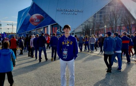 Play Ball: Senior Patrick Hannan goes to see the famous Super Bowl '53 event at the Georgia Congress Center.