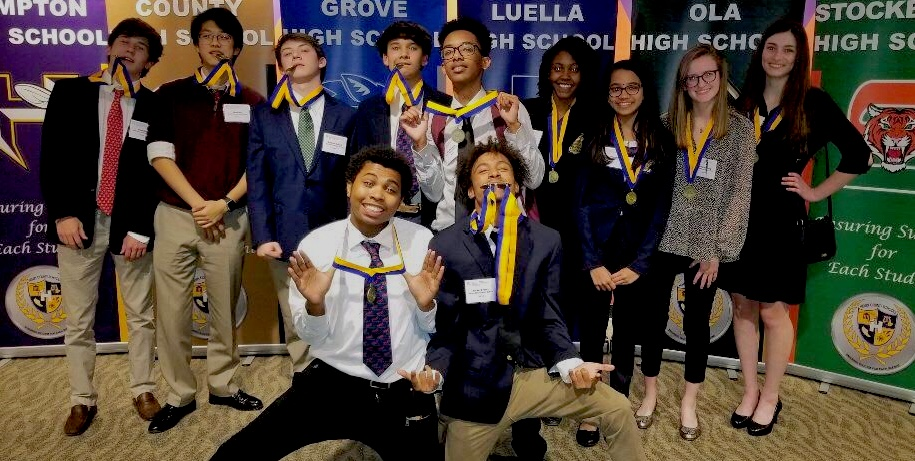 On Business: The FBLA students travel together to a conference to compete with other schools for the best business and financial skills to invest in their future.