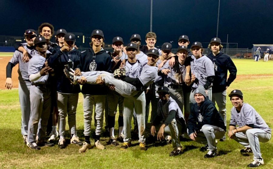 Hit+for+It%3A+North+Atlanta%27s+varsity+baseball+team+shows+tremendous+promise+this+season+with+high+wins%2C+close+losses%2C+and+a+greater+overall+performance.