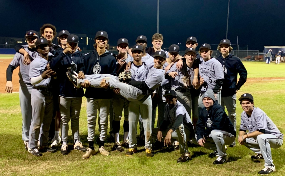 Hit for It: North Atlanta's varsity baseball team shows tremendous promise this season with high wins, close losses, and a greater overall performance.
