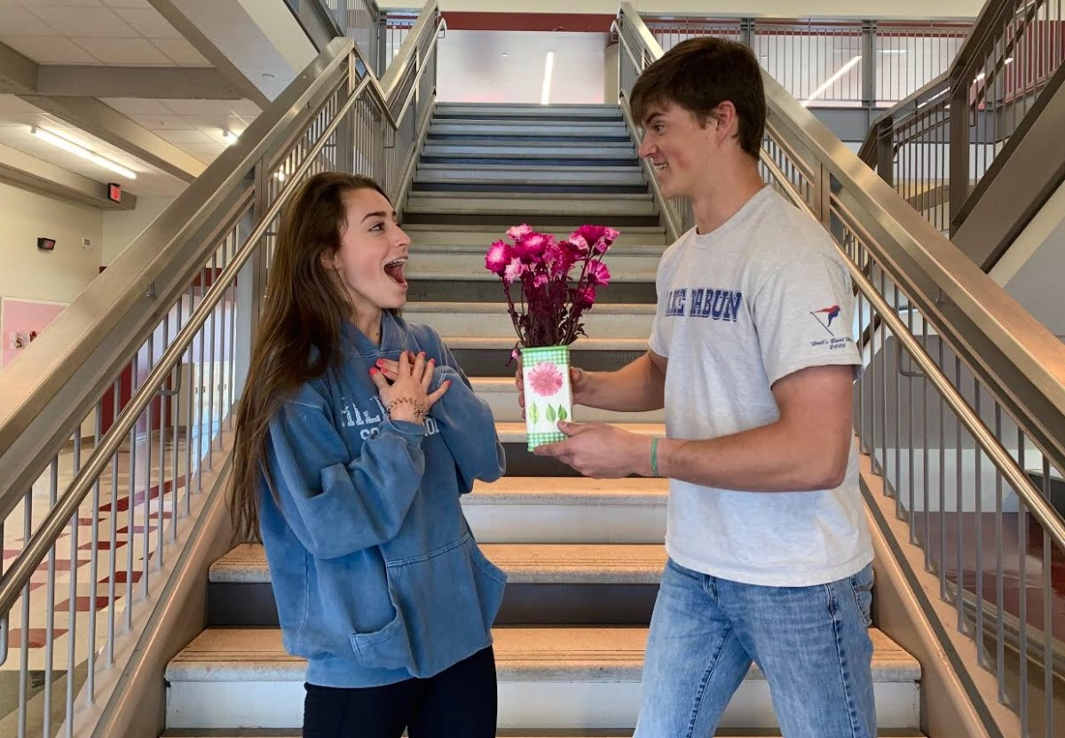 Dating Dilemma: Junior Danielle Milburn and Wiley Hartley get swept up in the high school trend to find a date.