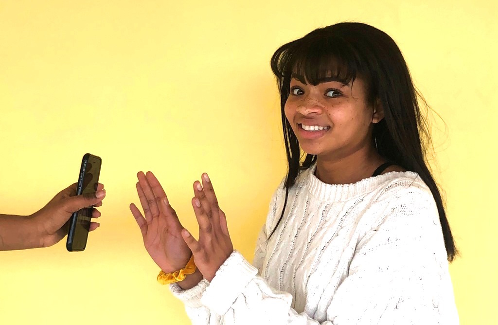 Phones Off: Junior Soleil Golden deals with both the challenges and rewards of not bringing a phone to school.