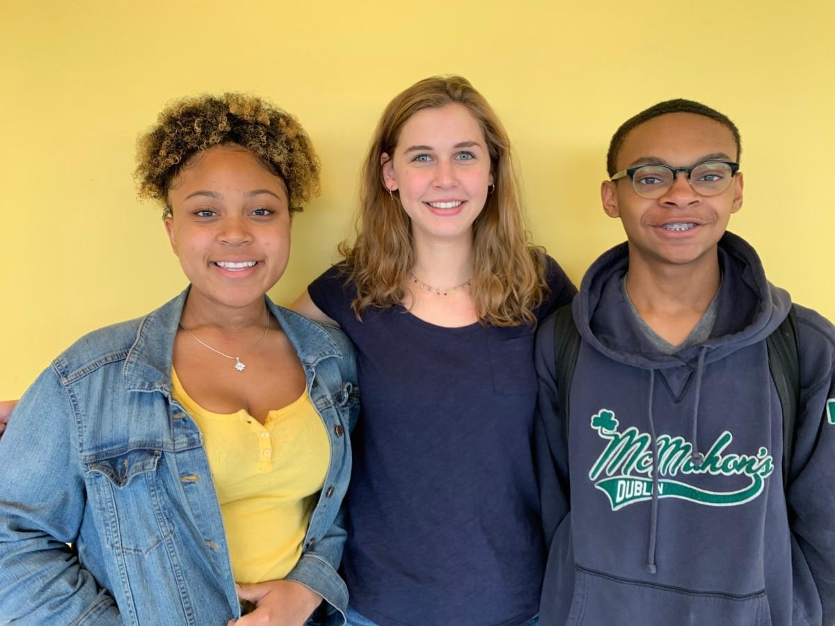 Club Leaders: Juniors Janejha Jones, Annie Weber, and Mac Walker are club leaders at North Atlanta High School.