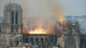 Hellfire: Notre Dame Cathedral becomes severely damaged from a sudden fire that erupted and destroyed a part of its spire.