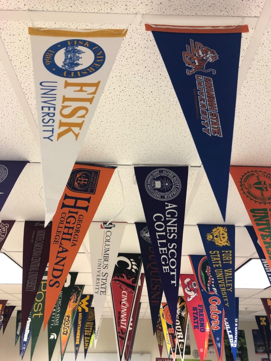 Graduation caps and Diplomas: The Class of 2019 announces their plans for when they leave North Atlanta.