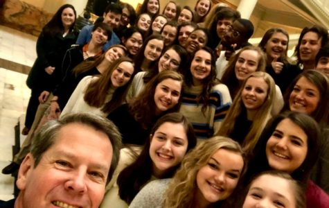 Rho Kappa takes Historic Field Trip to State Capitol