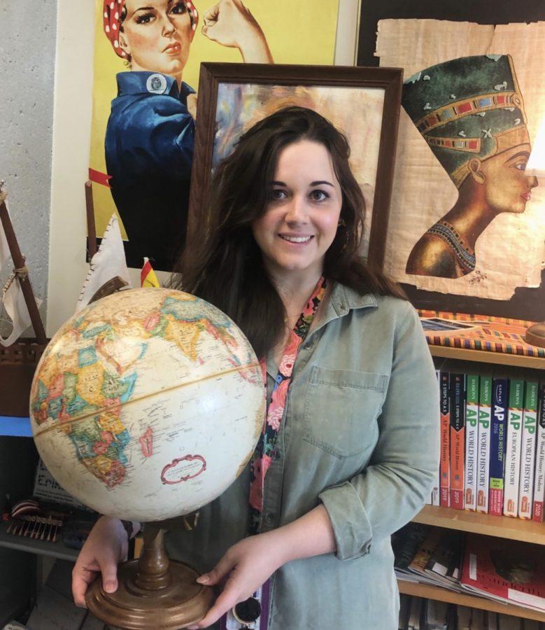 Social Studies Teacher Caitlin Tripp Named 2019-2020 Teacher of the Year