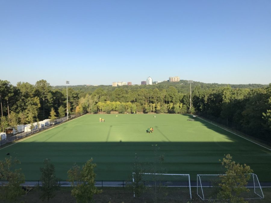 Home Turf Advantage: New Field Expands Training Opportunities