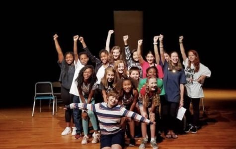 Broadway Bound: NAHS seniors Gillian Schuh and Cole Bickerstaff share their acting expertise with Sutton students