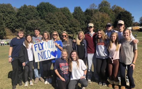 "Warriors Show Out for the ""Out of the Darkness Walk"" for Suicide Prevention"