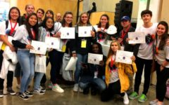 Creative Crew: A talented group of artists from North Atlanta went to Columbus State University on Nov. 8 to compete in the first-ever statewide Art Throwdown and the school's team took top honors.