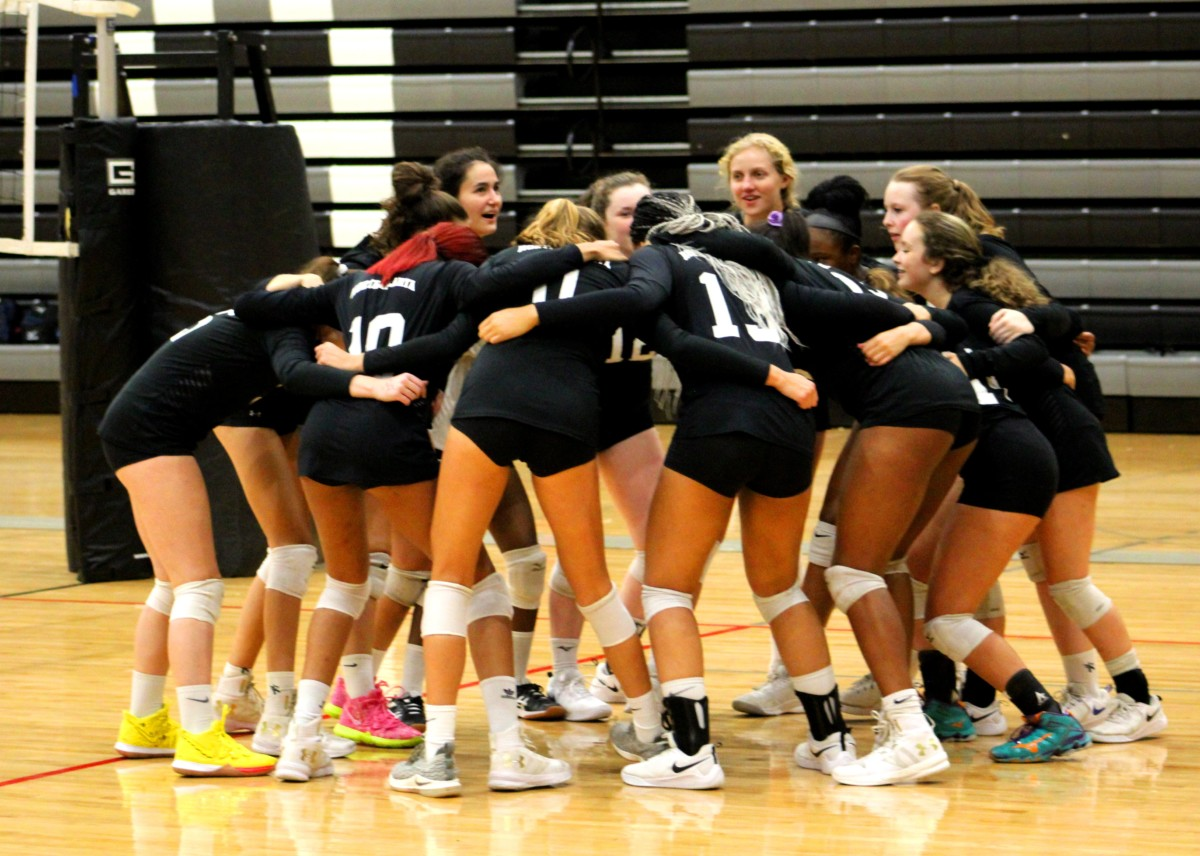 Set and Spike: North Atlanta's volleyball team served the competition this season