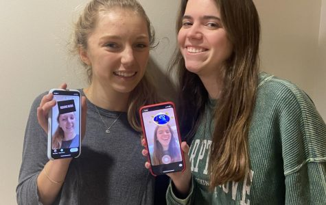 Fabulous Filters: Juniors Gigi Olmstead and Katherine McWhirter see what their future holds