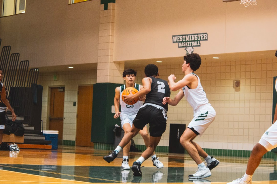 Boss Baller: Tyson Motton (#2) Drives the Lane Against Westminster