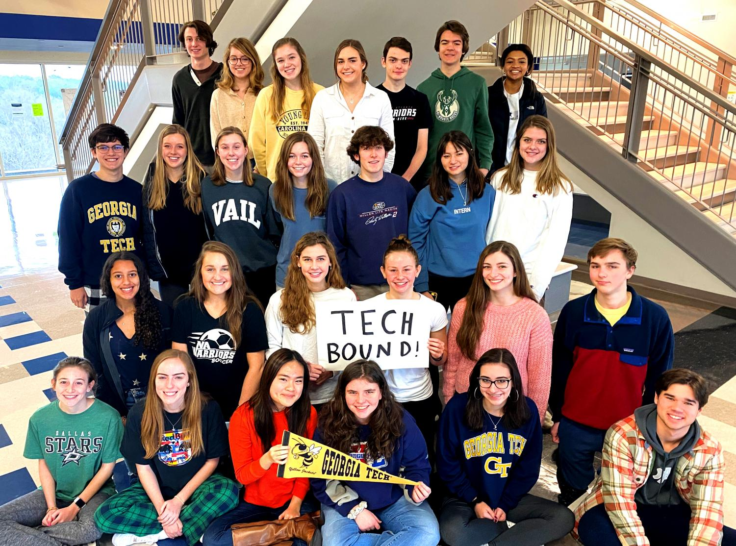 Buzz About Buzz: More than 30 North Atlanta seniors have been admitted to Georgia Tech, a number more than double the figure from just two years ago.