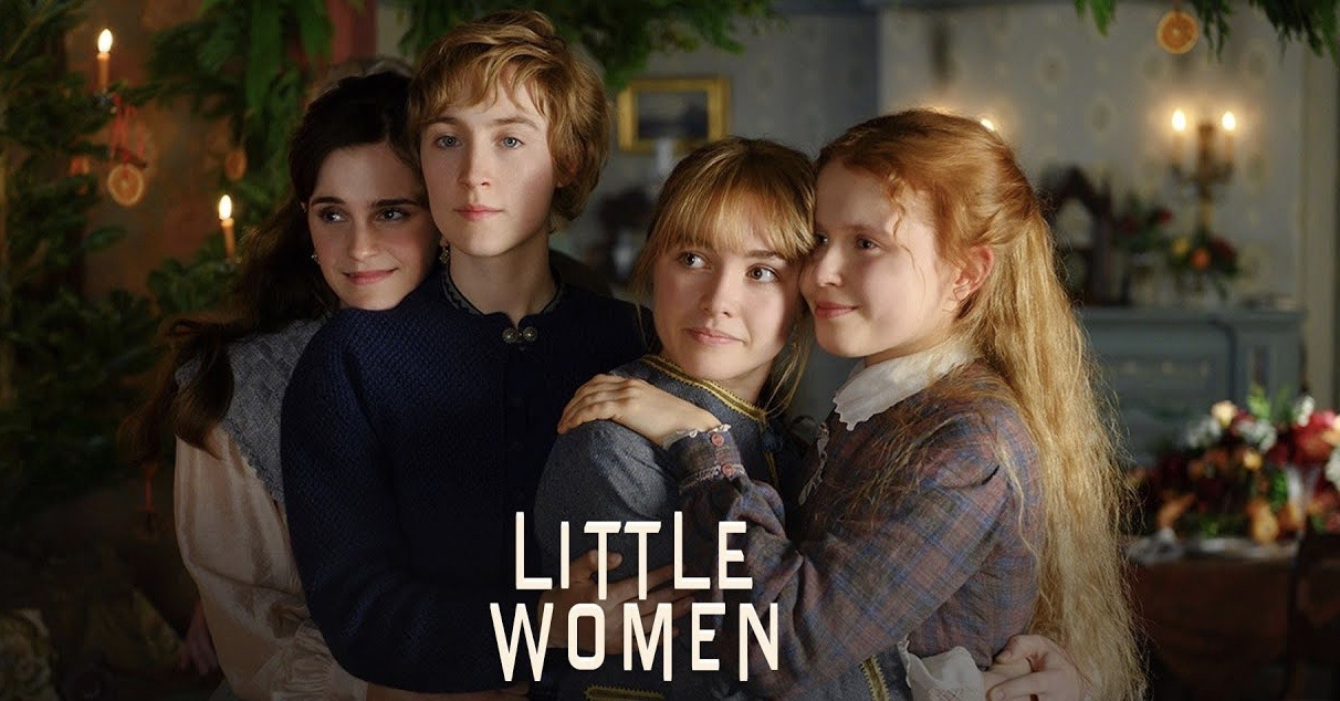 """Fantastic Films: A film both humorous and dramatic- Emma Watson, Saoirse Ronan, Florence Pugh, and Eliza Scanlen star in the critically acclaimed """"Little Women""""."""