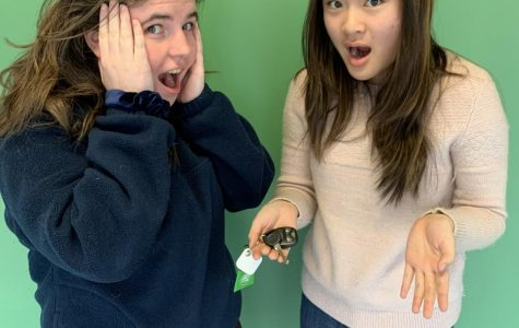 Break-in Blues: Seniors Hannah Hume and Fiona Liu worry about their cars being broken into as these robberies become more common in the Buckhead area.