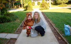Flashback: Sophomore Bella Rocchio (age 2) with her Mother before Lupus diagnosis on Halloween