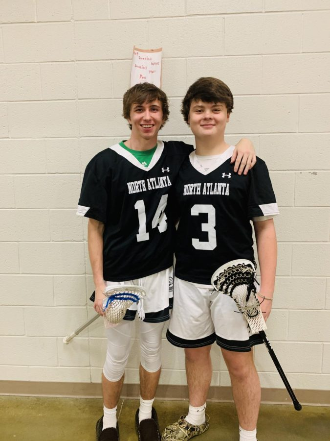 Team+Tryouts%3A+Sophomore+Walter+Mathews+and+sophomore+Michael+Pickens+prepare+for+their+lacrosse+tryouts