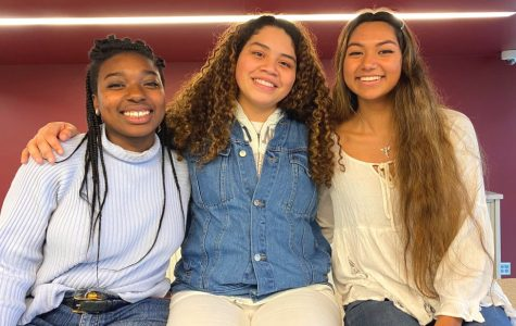 Super Scholars: Seniors Shania Barker, Maria Niño, and Gabriela Oliveros are among this year's recipients of the prestigious Posse Scholarship, and will be attending Bard College, Boston University, and George Washington University, respectively.