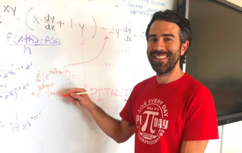 Linear Leader: Many of North Atlanta's brightest and highest-level math students attribute much of their success to math teacher David Ehrman.