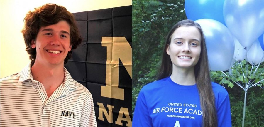 Uniformed+Service%3A+Seniors+Brian+Bird+and+Aubrey+Miller+are+members+of+the+Class+of+2020+who+will+fulfill+their+collegiate+dreams+by+studying+at+United+State+military+academies.+%0A