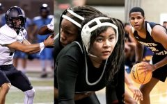Coming Up Big: Seniors Wiley Hartley, Dia Martells and Amari Scott are just three among many senior Warrior athletes who had big, clutch athletic performances when their Dub teammates needed it most.