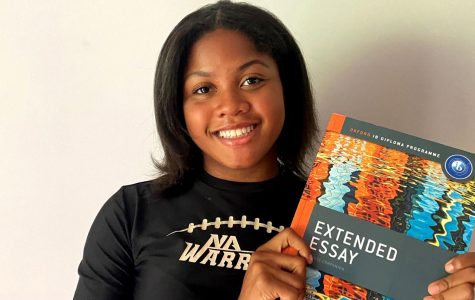 Tough Stuff: Juniors in the school's IB Pathways are already contending with tough academic hurdles. And the realities of remote-education have made a difficult situation even more so. Junior Avery Horton is one of many who is rising to the challenge.