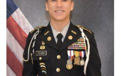 Loyal Leadership: Senior Brandon Flash serves as Battalion Commander after many dedicated years in the JROTC program.